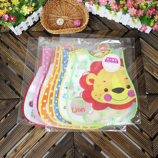 Newborn Bandanas Feeding Baby Bibs Waterproof Saliva Towel Lunch Cartoon Panda Children Bibs