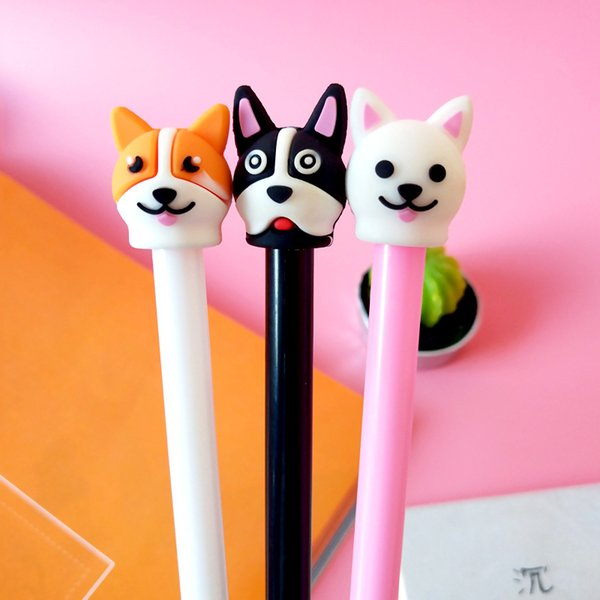 2019 Novelty Lovely Dog Husky Puppy Emoji Gel Pen Creative Stationery  Office Supplies School Chancery For Students 2018 From Gyposphila, $33 74 |