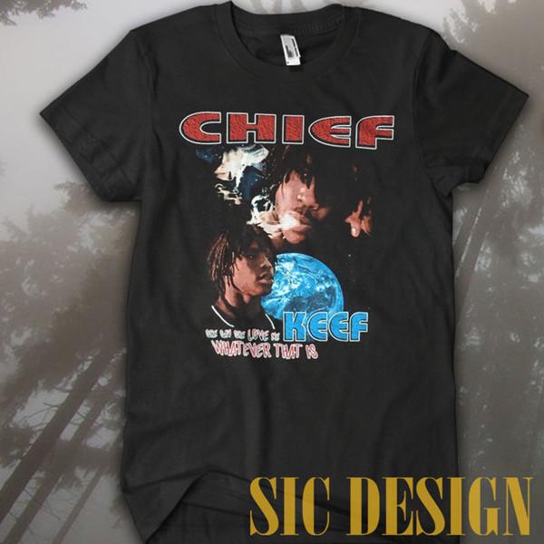 Vintage Rare Marino Morwood Chefe Keef Ela Diz Que Ela Me Amo T-shirt personalizado impresso camiseta hip hop engraçado tee mens camisetas