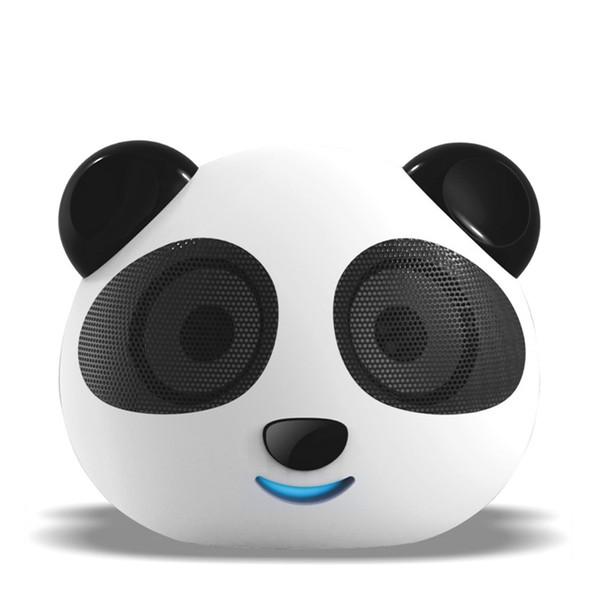 Wholesale-Panda DS-180 Digital Speaker USB / SD Card Play Lithium Battery Cartoon Player Cute Little Bear Dual Decode Prenatal Education