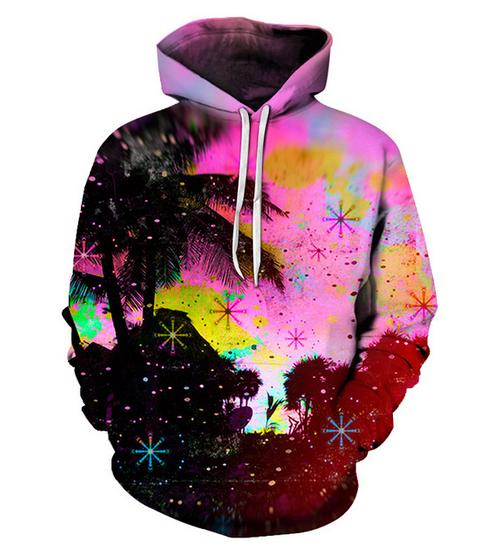 Colorful Scenery paint 3D Hoodies Men Women Sweatshirts 6XL Pullover Hot Fashion Tracksuits Boy Jackets Casual Hooded Coats New QW07
