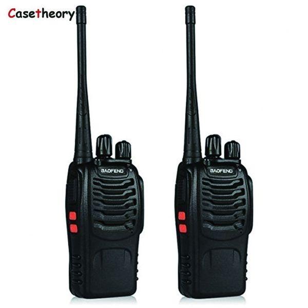 Free Earpiece 2 Piece Baofeng BF-888S 400-470MHz Handheld Two-way Ham Radio