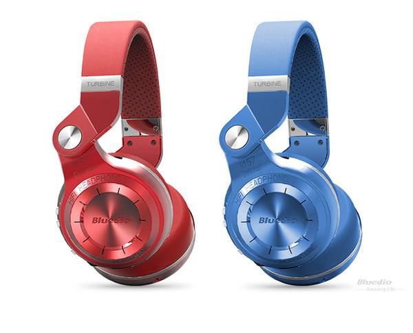 NOUVEAU Casque Bluetooth Bluedio T2 Plus, casque stéréo sans fil sport, support pour carte SD, radio, prise jack 3,5 mm.