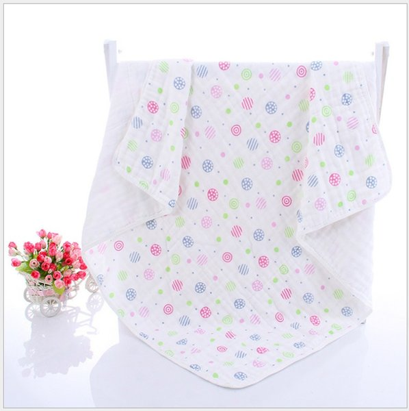 Baby Muslin Swaddles Organic Cotton Wraps Ins Blankets Soft Nursery Bedding Newborn Bath Towels Parisarc Robes Quilt Robes Free shipping