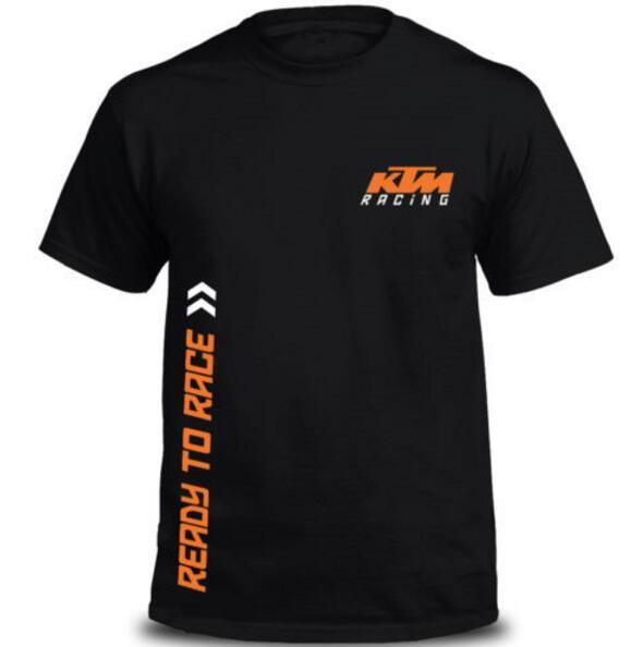 top popular New motocross racing T-shirt for ktm men's short-sleeved T-shirt 2019