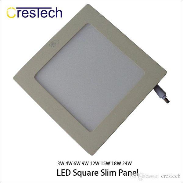 15W 18W 23W Raster-Downlight LED-Einbauleuchte Einbauleuchten-Kit Warmweiß und Kaltweiß