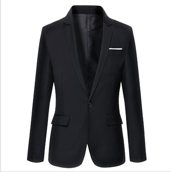 YENI Özel Tasarım Bir Düğme Moda Erkekler Blazer Uzun Kollu Damat Smokin Yaka Best Man Groomsmen Düğün Suits İş Ceket Rahat Ceket