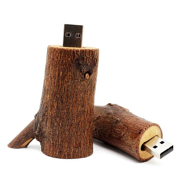 Großhandel Kunde LOGO Wood USB Stick Aus Holz Aus Holz 4 GB 8 GB 16 GB 32  GB Pen Drive Memory Stick Fotografie Hochzeitsgeschenke Von ...