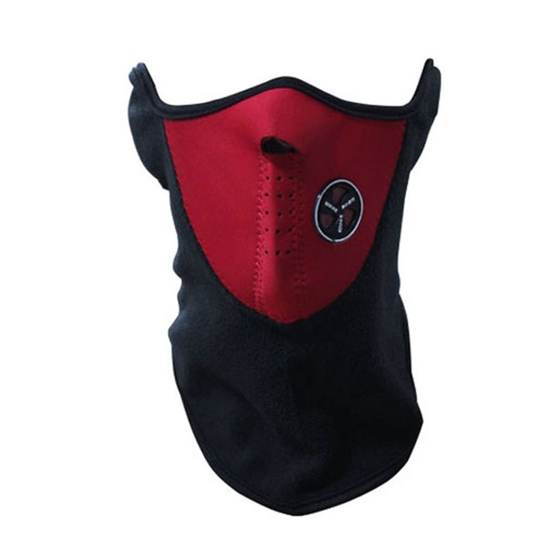 Red Neoprene Neck Winter Warm Face Mask Sport Skiing Bike Accessories YS-BUY