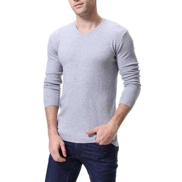 Pullover Langärmelige Herren Von 6 Auf Ausschnitt Boden