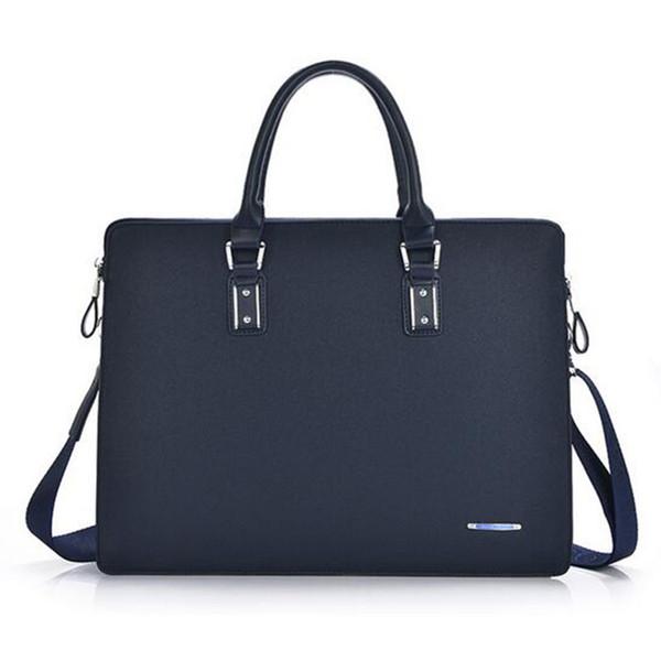 Senkey стиль мужчины портфели мода натуральная кожа мужчины компьютер  ноутбук сумка повседневная портфель бизнес плечо сумка 67b0fc2b8222d