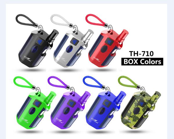 100% Authentic Kangvape TH-710 Box Kit 650mAh Battery 0.5ml 510 Cartridge TH710 Variable Voltage Mod