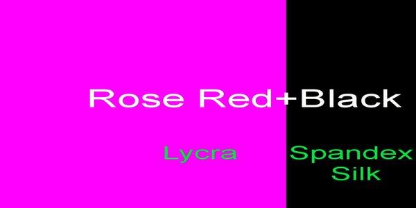 Роза красный + черный