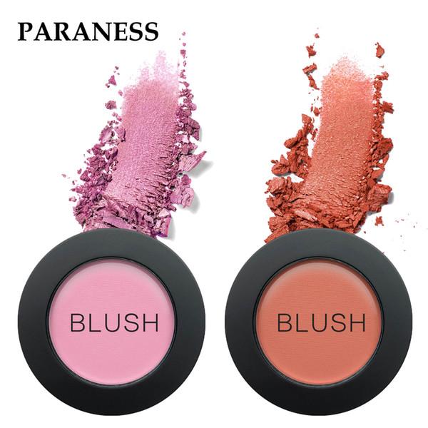 Paraness Brand Makeup Blush Palette Cheek 3 Color Cream Blusher Face Powder Pressed Long Lasting Shimmering Blush Korean Make up