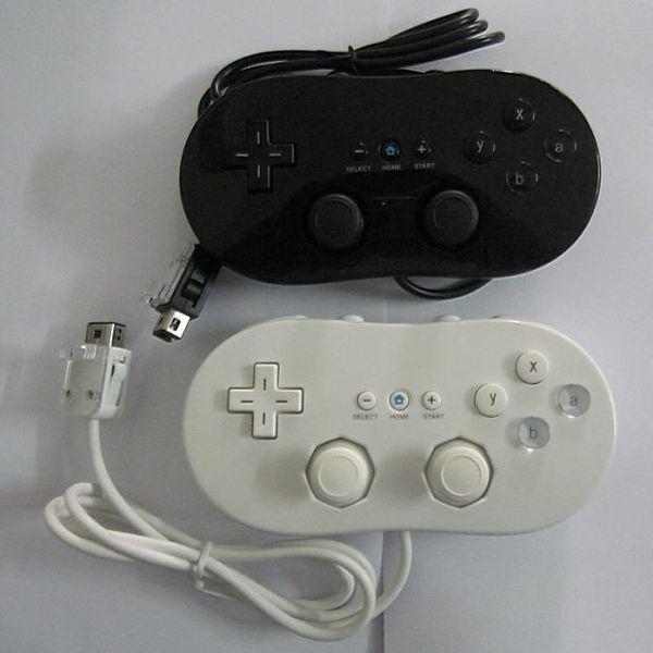 A estrenar con cable gamepad nes wii clásico gamepad vibración manejar juego jugador manejar manejar joystick para nes wii envío gratis