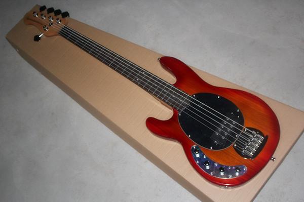 HOT!!! Music man StingRay bass five string left hand electric bass CS color