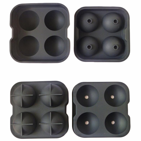 Silicone Khgdnor Silicone Ice Cube Mold Round and Square Shape Silicone Ice Cube Tray Mold 2pcs /Set Ice Mould Bar Accessories