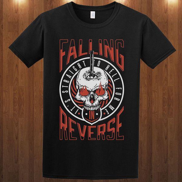 T Shirt Tops Crew Neck Men Falling In Reverse S M L Xl 2Xl 3Xl 4Xl Short-Sleeve Printed Tee