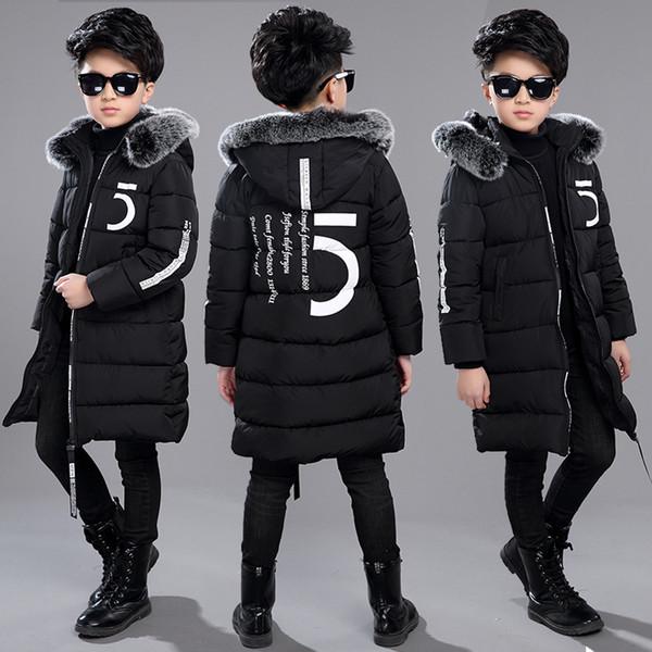 Acquista 12 Abbigliamento Bambini 13 Ragazzi 14 Abbigliamento Invernale 15 Giacca 2018 Nuovo Ispessimento Di Cotone Spesso Bambino Di 10 Anni 30 Gradi