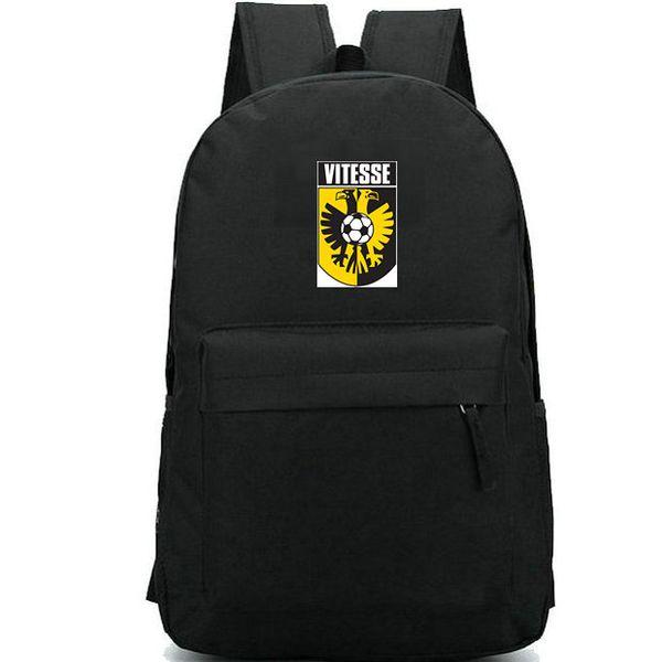 Vitesse backpack Stichting Betaald Voetbal school bag Football club daypack Soccer team schoolbag Outdoor rucksack Sport day pack