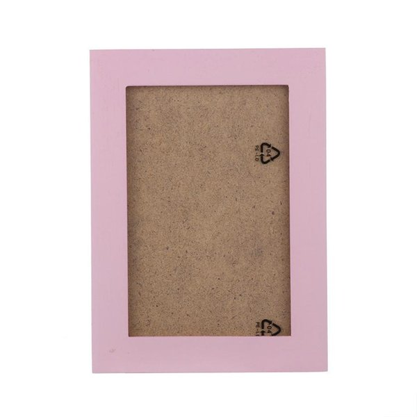 1PC Natural Wood Picture Frame Wall Mounted Hanging Photo Frame Picture Wall Poster Decoration cadre photo murale #Y