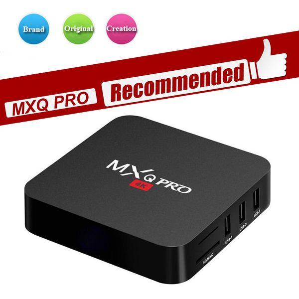 Fabrika kaynağı android tv kutusu MXQ-4K Hd internet oyuncu MXQ PRO M9S V3 K3 V5 akıllı TV KUTUSU Android 7.1 RK3229 1 GB / 8 GB 4 K