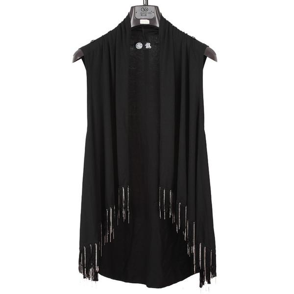 2018 NEUE herrenbekleidung Haar Stylist GD mode persönlichkeit nachtunterhaltungsort schlank mantel amice ärmellose weste