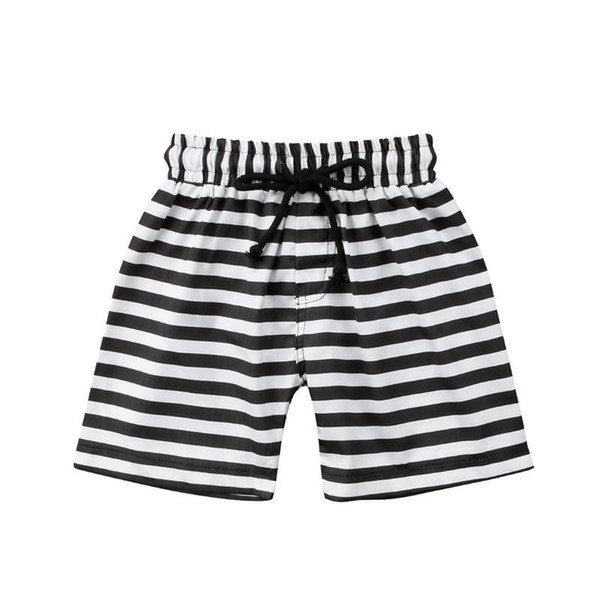 2018 Boys Beach Shorts striped floral Kids swimming trunks Children sport swimsuits Boys Swimwear bathing suits 1-6T hot sell