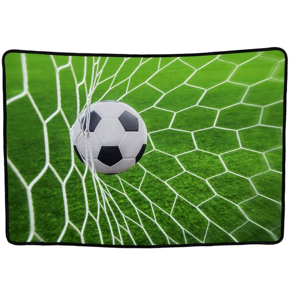 EHOMEBUY 3D Blanket Shooting Football Green 3D Printed Blankets Portable Travel Home Bed Decoration Thread Blankets Adults Soft