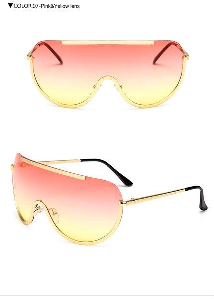 lente giallo rosa