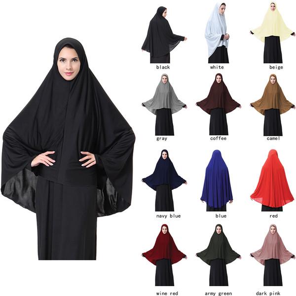 12 colors Milk Silk Muslim Inner Hijab Women Hijab Ninja Head Islamic Cover Bonnet Hat Cap Scarf Arabia lady Hijabs