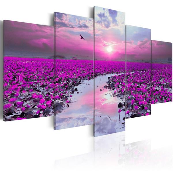 Оптовая ремесла 5 шт. мульти-картина цвет полный квадратный Алмаз живопись стразами картина украшения дома gx