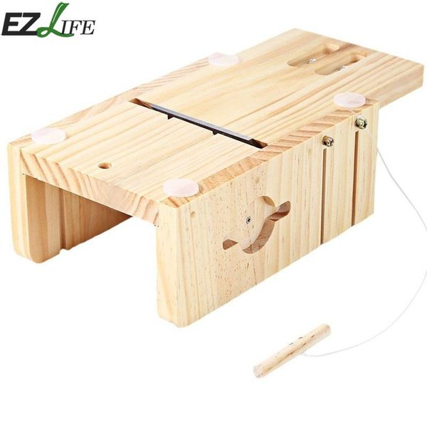 Pine Material Resin Wooden Soap cutter moulds Soap Mold Fondant Making Supplies Wooden Mold Cutting Tools LQX3663