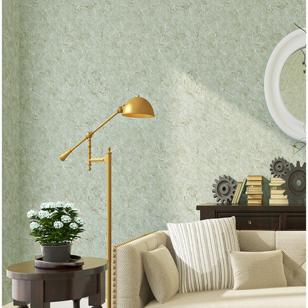 New Plain Design simple thick non-woven wallpaper modern solid color wall paper bedroom living room wallpaper rolls for 3d walls