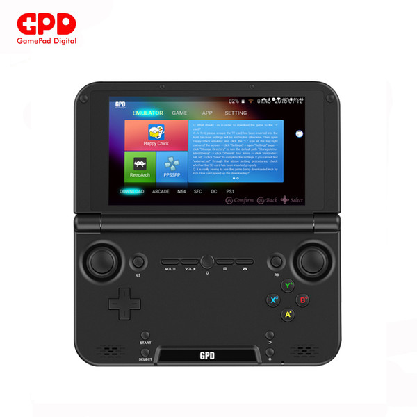 New Original GPD XD Plus 5 Inch 4 GB/32 GB MTK 8176 Hexa-core Handheld Game Console Laptop Android 7.0 1280*720 Game Player