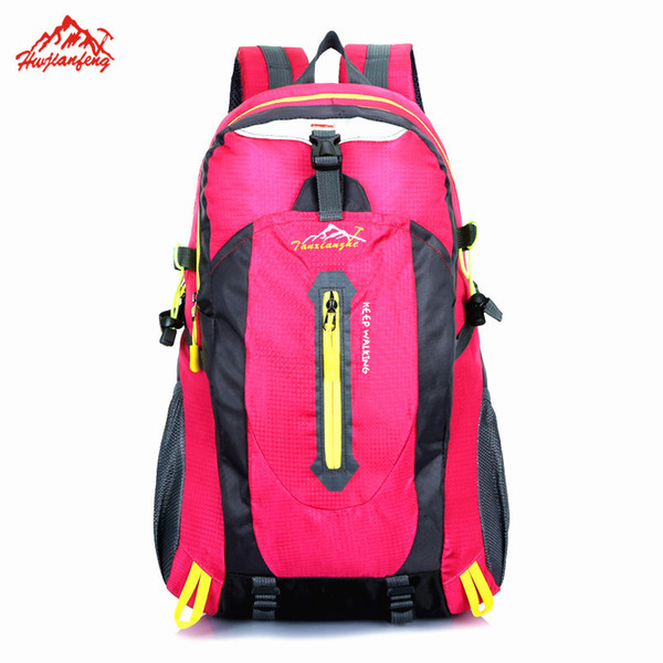 SupWeknd New Leisure Outdoor Bags Nylon Durable Women/men Sports Backpack Rucksack for Travel Camping Hiking Mountaineering