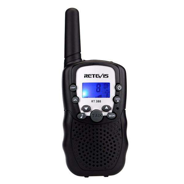 1 pcs Retevis RT388 Mini Walkie Talkie Kids Radio 0.5W 8/22CH VOX  Handy Hf Transceiver Gift Children Toy Radio J7027