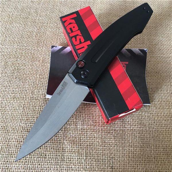 Más reciente OEM Kershaw 7200 Auto bolsillo plegable EDC cuchillo CPM154 Cuchilla de aleación de aluminio Mango táctico supervivencia cuchillos de bolsillo