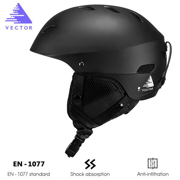VECTEUR Réglable De Protection En Plein Air Casque De Ski Patinage Neige Sports Homme Femmes Ultralight Patinage Snowboard Ski Casque