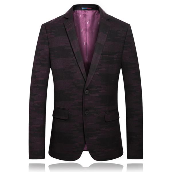 فريد رجل الحلل عارضة مع أنماط الرجال أنيق السترة masculino يتأهل الرجال أجنحة رسمية جاكيتات ملابس فاخرة للرجال