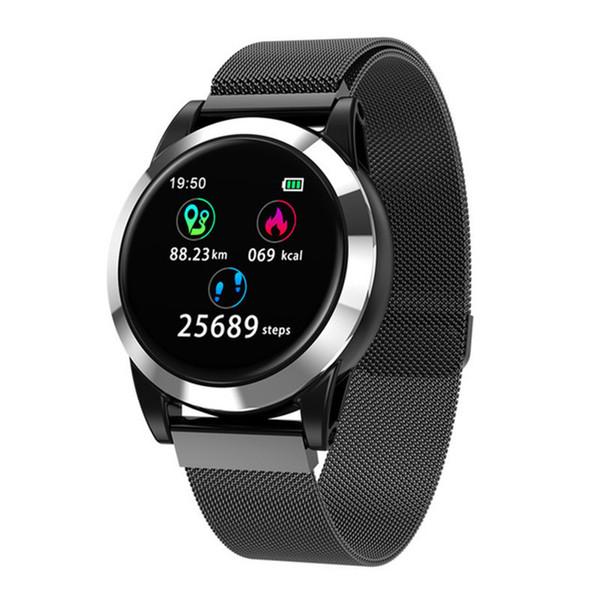 Inteligente Relógio de Pressão Arterial Monitor de Freqüência Cardíaca À Prova D 'Água de oxigênio no sangue rastreador de fitness Smartwatch para Xiao mi Android Telefone IOS