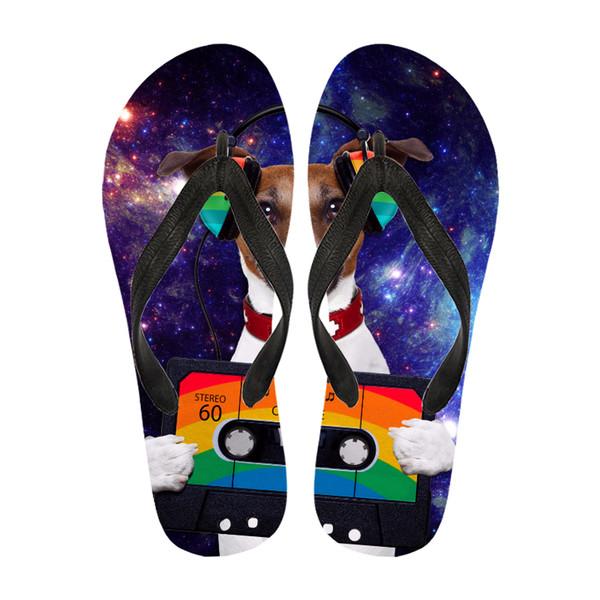 Custom Slippers Size Between 35-47 Simple Style EVA Foam Flip Flop Flat Sandals EVA Thick Sole Ladies Beach Sandals