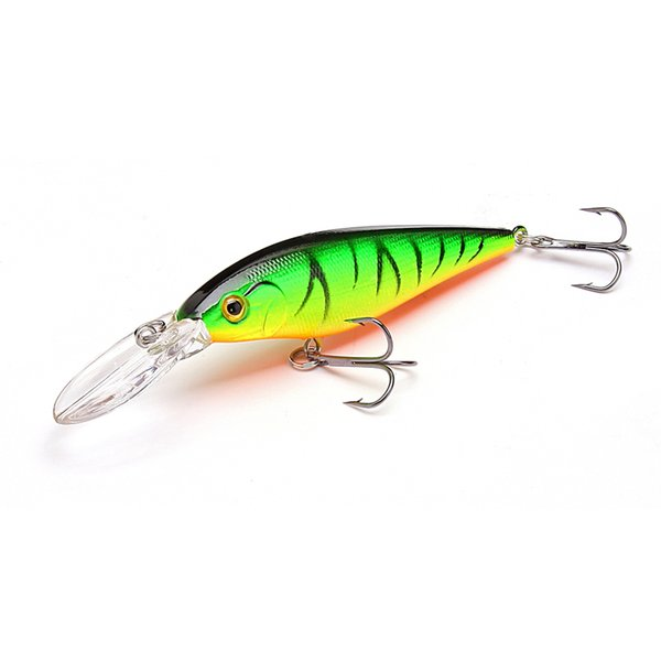 1.5-4m 10.5g 11cm Hard Bait Minnow Fishing lures Crankbait Wobbler Depth Dive Bass Fresh Salt water 4# Hook Y1890402