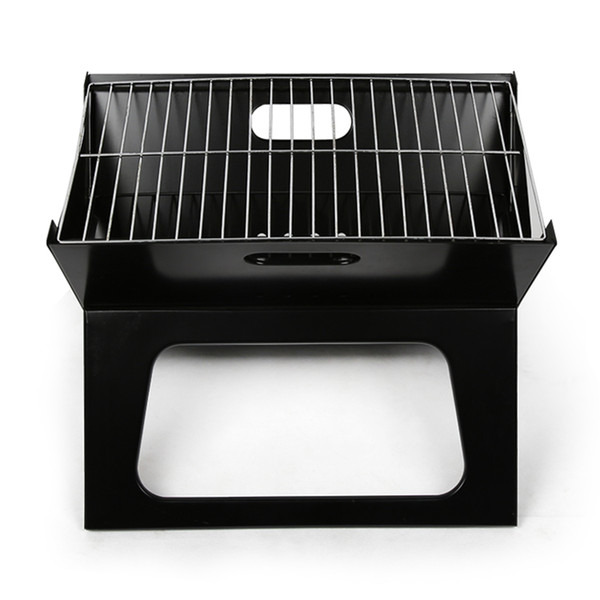 LightbyBox Charcoal Grill, Portable Mini Hibachi Grills For Kitchen  Backyard Outdoor Cooking BBQ Barbecue Tool Sets Black Outdoor Grill Camping  Stoves ...