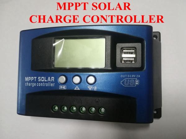 Regolatore di carica solare 100A / 60A / 50A / 40A / 30A MPPT messa a fuoco automatica con messa a fuoco automatica e visualizzazione della corrente di scarica