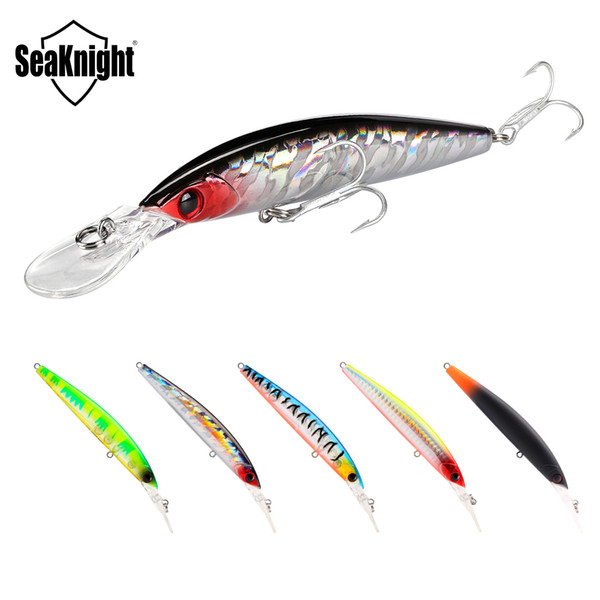 Brand ABS Plastic Long Tongue Minnow Laser crankbaits 110mm 16.3g 3D Fish Swimbaits Freshwater Fishing Artificial bass lure