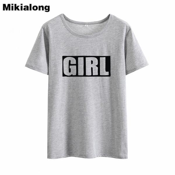 Women's Tee Mrs Win Girl Best Friends T Shirt Tumblr Feminist 100% Cotton Black White Women Tshirt Regular Loose O - Neck Camiseta Feminina