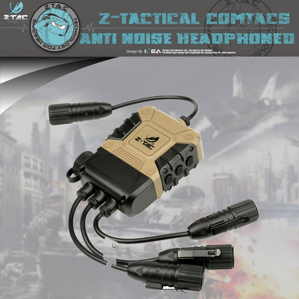 Headset Z Tac Z119 Z4ops Pro PttLite EditionFor Simultaneous Connection Of  Two Walkie Talkie Apply To Full Range Tactical Best Two Way Radios Walkie
