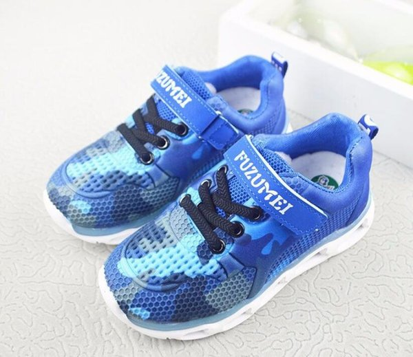 top popular Casual Shoes Blue Camo Animal Soft Meshable comfortable Fashion Slip On Buckle Flat Footwear 2019