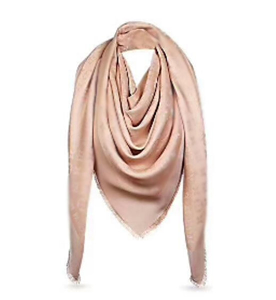 Hohe qualtiy Marke Scarf Silberfaden Design Frauen Schal Wolle Design Schal Schal Damen Warm Schals Größe 140x140 cm ohne Box A-220
